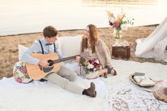 Bohemian Styled Wedding Photo Shoot + Handcrafted Teepee!