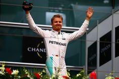 ¡Insuperable! Nico Rosberg conquista el Gran Premio de China