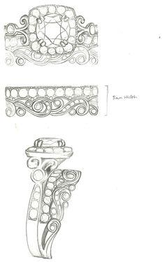 Mark Schneider Design -custom wedding band design