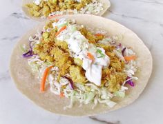 Baked Cauliflower Tacos