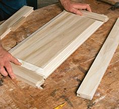 Genial Making Raised Panel Doors On A Tablesaw   Fine Homebuilding Article
