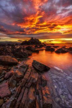 INFINITO by Jorge Gonzalez Herrera on 500px Amazing Sunsets, Beautiful Sunset, Beautiful World, Beautiful Places, Beautiful Pictures, Cool Landscapes, Beautiful Landscapes, Macro Photography, Landscape Photography