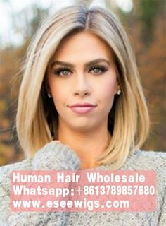 Mid-length Straight Blonde Full Lace Human Hair Wig 12 Inches - - Source by Hair Wigs Shoulder Length Straight Hair, Short Straight Hair, Sholder Length Hair Styles, Shoulder Hair Styles, Styling Shoulder Length Hair, Lob Haircut Straight, Shoulder Length Hairdos, Shoulder Bob, Short Haircut