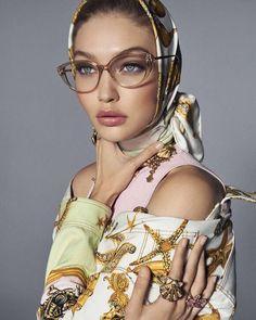 a09b39d57e Gigi Hadid for VERSACE Eyewear 2018 Gigi Hadid