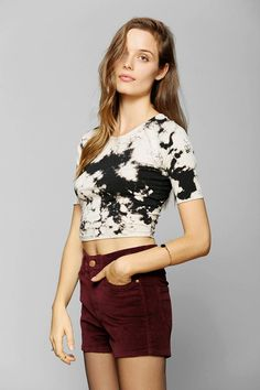 Ecote Party Cake Cropped Top #urbanoutfitters