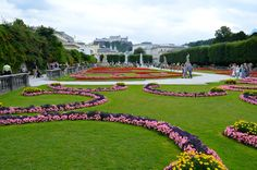 Mirabell Gardens | Salzburg!  It's hard to believe these Gardens have been around since 1690 because they are so ...