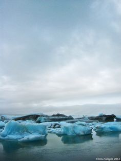 Icebergs, Southern Iceland