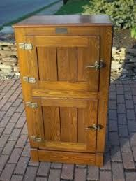 Image result for oak ice boxes