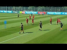 Soccer Shooting Drills, Football Coaching Drills, Passing Drills, Liverpool Fc, Videos, Sports, Bayer 04 Leverkusen, Gossip, Football Soccer