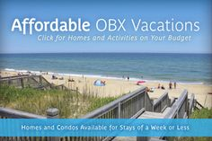 Plan a fun and memorable Outer Banks family vacation that won't put a dent in your piggy bank!#familyvacation #OBX http://www.sunrealtync.com/affordable-outer-banks-vacation-rentals