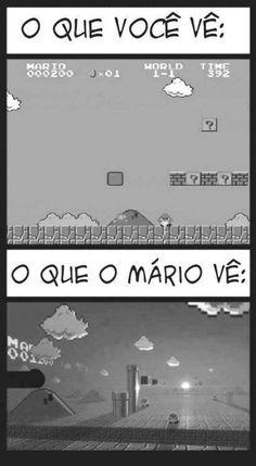 Mário é um guerreiro. Mário é um vencedor :v