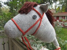 Hobby horse made for my daughter Baby Boy Knitting, Hobby Horse, Baby Boys, To My Daughter, Reusable Tote Bags, Horses, Children, Animals, Image