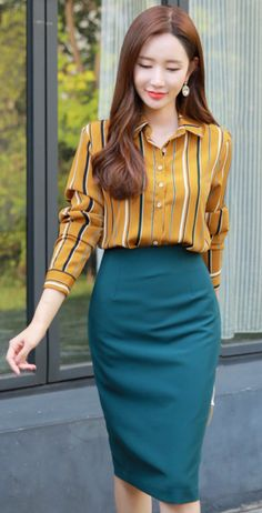 Slim fit pencil skirt with high waist - Skirts Informations About Slim Fit Bleistiftrock mit hoher T Pencil Skirt Dress, Pencil Skirt Outfits, High Waisted Pencil Skirt, Pencil Skirt Black, Pencil Skirts, Pencil Skirt Work, Skirt Midi, Pencil Dresses, Mini Skirt