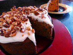 Spiced Sweet Potato Cake