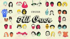 """Official music video for the song """"All Over"""" by Cruisr.   Credits:  Client: Vagrant Records Concept, Design, and Direction: Chris Carboni Animation: Chris…"""