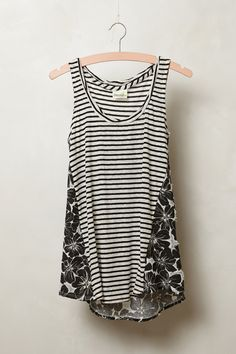 Twisted Stripes Tank - Anthropologie.com
