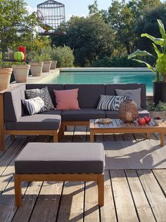 Salon de jardin Alinéa - Jeu concours Pinterest - A gagner : 500€ en bons d'achat ! Jouez sur : https://www.pinterest.com/alinea/jeu-en-exterieur/