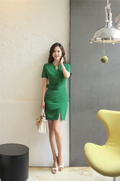 Clothes Pictures, Fashion Pictures, Office Dresses, Dresses For Work, Business Outfits, Fashion Outfits, Womens Fashion, Business Women, Work Wear