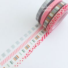 The perfect addition to all your paper crafts and more! Add beautiful designs to your projects! This tape is perfect for all paper projects! Use as a border to make unique scrapbook pages! Features a
