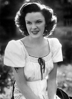Judy Garland.  I don't think she realized what a beauty she was!