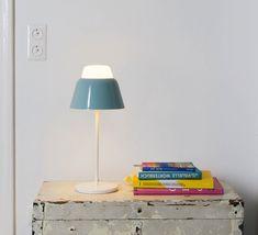 Lampe  poser Cheshire LED noir H53cm ¸35c