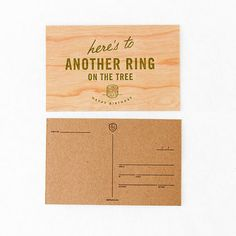Postcard: Ring on the Tree - Sideshow Press