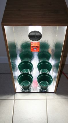 Indoor Garden Box Stealthy Speaker Grow Cabinet Hydroponic Setup All Inclusive
