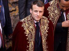 PHOTOS. Emmanuel Macron assure son voyage en Afrique de l'Est sans Brigitte Macron