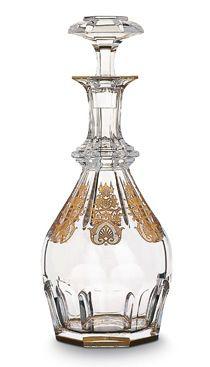 crystal dinnerware   Baccarat Empire Crystal Glassware   Gilded Life