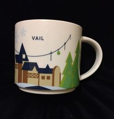 171 Best Starbucks You Are Here Mugs Images In 2019