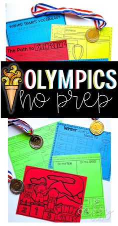 Are you looking for some *PREP FREE* fun to celebrate and teach about this year's games? These 20 activities are the PERFECT way to incorporate Winter Sports activities into your lessons with NO prep time involved!Includes:--Comprehension passages--Athlete posters--Snow/Ice Sport sorting worksheet--All About the games poster--Medal Addition--Medal Missing Addends