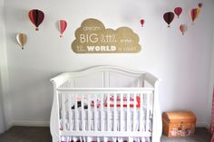 Hi there! Today I want to feature a project that I kind of fell in love with when I saw it in my inbox. It was just too darling not to share! Cheri from I am Momma – Hear me Roar is expecting a baby girl and used her Silhouette to help her get the nursery ready for the baby's arrival. Here is a quick peek at the finished product…