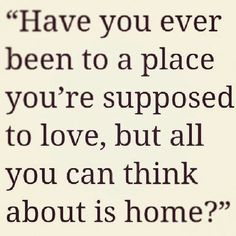 Homesick Quotes