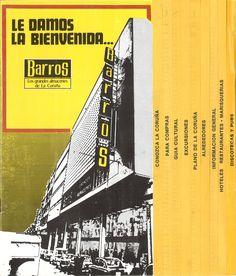 Barros, los grandes almacenes de La Coruña, le damos la bienvenida-- . -- [A Coruña : Barros, 1982] (La Coruña : La Voz de Galicia, División de Artes Gráf.) [16] p. : il. ; 25 cm. -- DL C 800-1982 Cgi, Posters, Department Store, Barbell, The Voice, Poster, Billboard