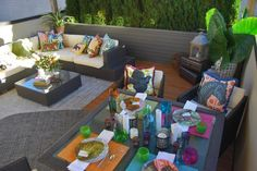 Learn how to turn your backyard or rooftop into an oasis with the experts at HGTV.com and designers from Topiarius.