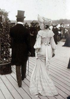 Longchamp, France. 1900