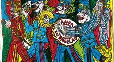 La fanfare du Ragelade, Robert Combas, 1985 Bad Painting, Jean Michel Basquiat, Keith Haring, Neo Pop, Neo Expressionism, Les Religions, Fauvism, Conceptual Art, Art World