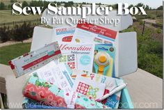 Hi everyone! I'm super excited to be reviewing the new Fat Quarter Shop Sew Sampler subscription box for you all today! I've had my eye on these ever since Fat Quarter Shop said they were releasing them and so far I've loved every single box that's come out. Now I want to say that I'm not always a fan of…