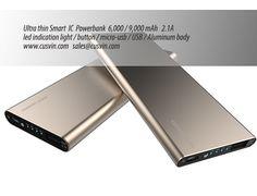Power bank Ultra thin 6000/9000mAh #powerbank #SlimPowerBank #powerJuice #battery