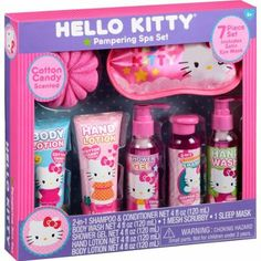 Hello Kitty Pampering Spa Set, 7 pc Image 1 of 1 Little Girl Toys, Baby Girl Toys, Toys For Girls, Kids Toys, Hello Kitty Makeup, Hello Kitty Items, Lol Dolls, Barbie Dolls, Hello Kitty Merchandise