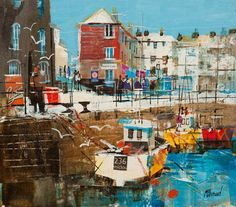 PADSTOW HARBOUR, CORNWALL 9 1-2X 13
