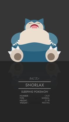 Snorlax by WEAPONIX on DeviantArt