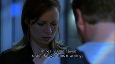 """Me too.""  Chloe O'Brian and Jack Bauer; Season 6"