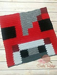 Crochet Toys For Boys My Minecraft Obsession CAL Square by Crafty Ridge! It's Mooshroom! Minecraft Crochet Patterns, Crochet Lego, Minecraft Pattern, Pixel Crochet, Crochet Chart, Crochet Toys, Minecraft Teddy, Loom Patterns, Crochet For Boys