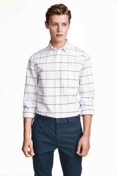 Camisa Oxford   H&M