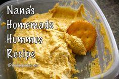 Nana's Homemade Hummus