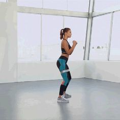 6 Weeks to Summer Challenge - Legs Workout - Shuffle Punch | Self.com