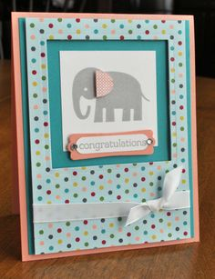 Baby Card - Mary Fish CASE