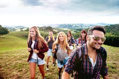 Hiking with friends | 7 Reasons Grad Travel is the Best Education