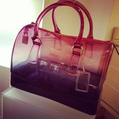 Holographic Bag Jelly Furla Purses Sweet Bags Candy